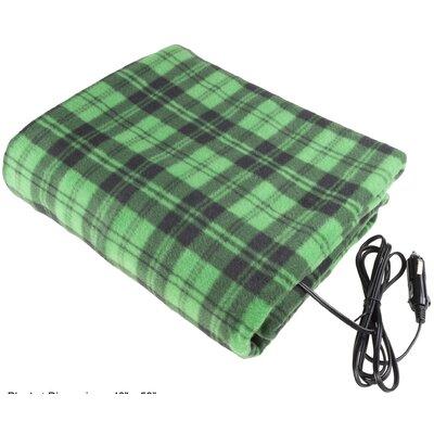 12 Volt Plaid Electric Blanket M600033
