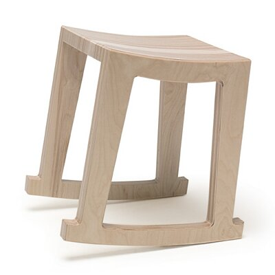 Narrative Rocker 18 Bar Stool Finish: Maple