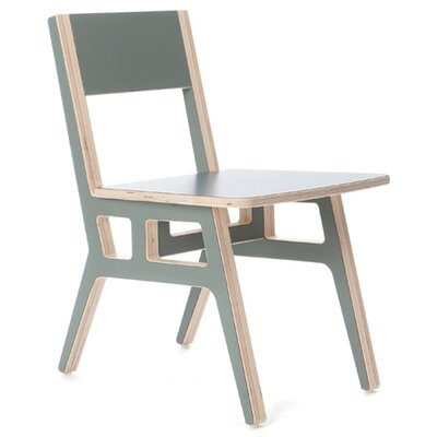 Truss Caf� Chair Finish: Moss Grey