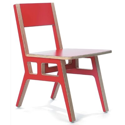Truss Caf? Chair Finish: Red