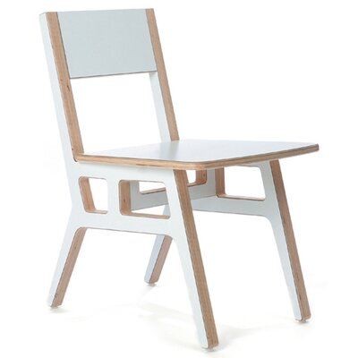 Truss Caf� Chair Finish: White