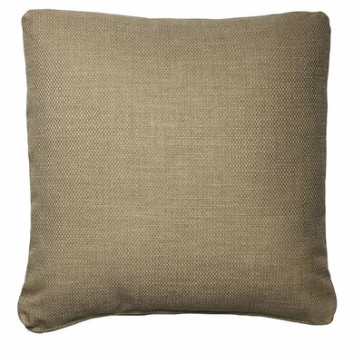 Throw Pillows Size: 18 x 18, Color: Flax