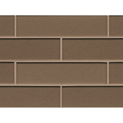 Remy Glass Mosaic Gloss Mesh Mounted Tile in Brown