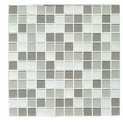 City 1 x 1 Glass Mosaic Tile in Cardiff