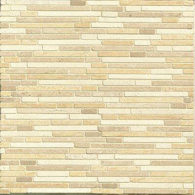 Random Sized Limestone Mosaic Tile in Honed Blend