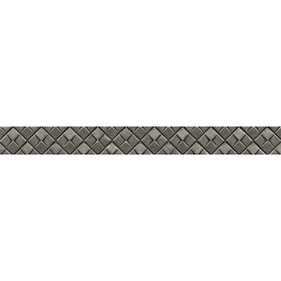 Ambiance Matrix City Liner 1-1/4 x 12 Resin Tile in Pewter