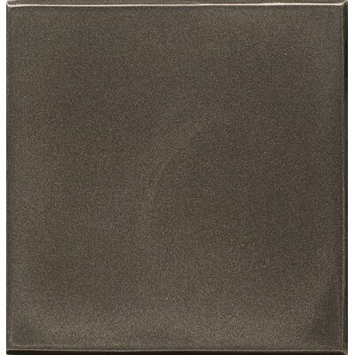 Ambiance Insert Pomenade 4 x 4 Resin Tile in Brushed Nickel