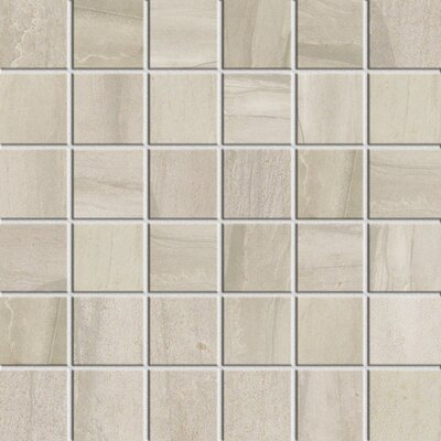 Athena 2 x 2 Porcelain Mosaic Tile in Pearl