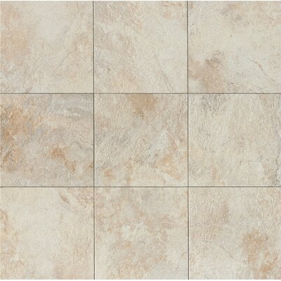 Rok 13 x 13 Porcelain Field Tile in Calcare