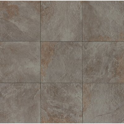 Rok 13 x 13 Porcelain Field Tile in Nero