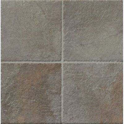 Rok 6.5 x 6.5 Porcelain Field Tile in Nero