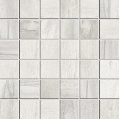 Athena 2 x 2 Porcelain Mosaic Tile in Cliff