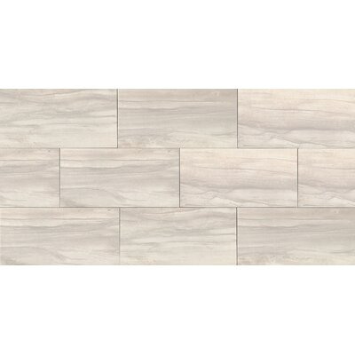 Athena 12 x 24 Porcelain Wood Look/Field Tile in Pearl