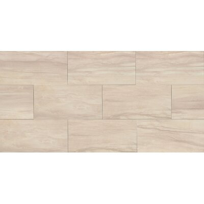 Athena 12 x 24 Porcelain Wood Look/Field Tile in Sand