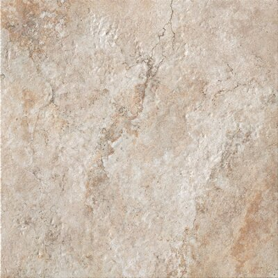 Forge 20 x 20 Porcelain Field Tile in Beige
