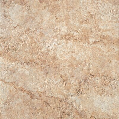 Forge 20 x 20 Porcelain Field Tile in Gold