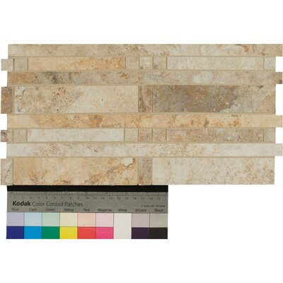 Forge Staggered Listello 6.5 x 13 Porcelain Mosaic Tile in Mix Color