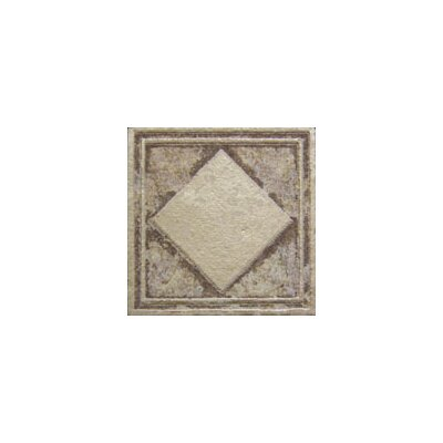 Forge Deco Tozzetto 1.9 x 1.9 Porcelain Tile in Walnut