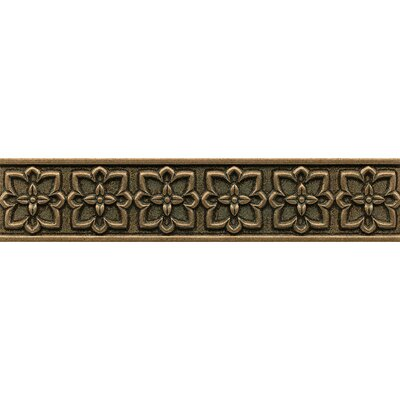 Ambiance Romanesque Liner 2-1/2 x 12 Resin Tile in Bronze