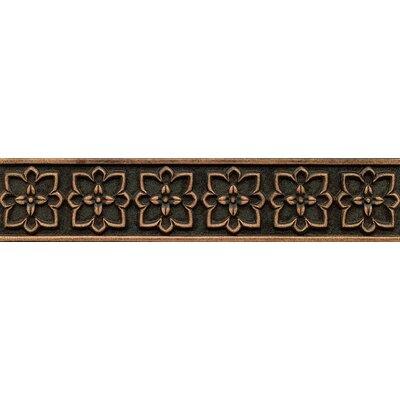 Ambiance Romanesque Liner 2-1/2 x 12 Resin Tile in Venetian Bronze