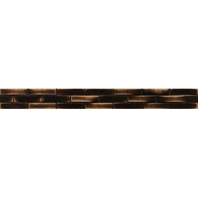 Ambiance Stagg Brick 1-1/4 x 12 Resin Tile in Venetian Bronze