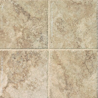 Forge 6.5 x 6.5 Porcelain Field Tile in Beige