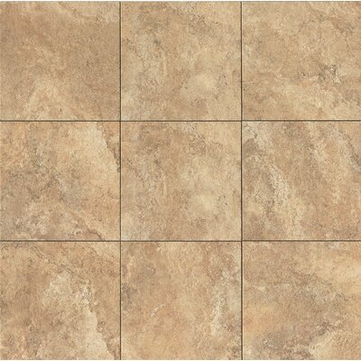 Forge 13 x 13 Porcelain Field Tile in Gold