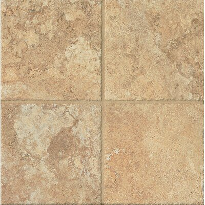 Forge 6.5 x 6.5 Porcelain Field Tile in Gold