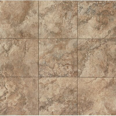 Forge 13 x 13 Porcelain Field Tile in Walnut