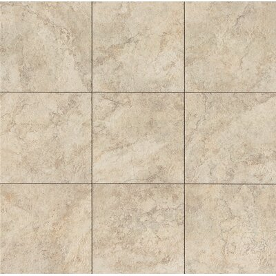 Forge 13 x 13 Porcelain Field Tile in White
