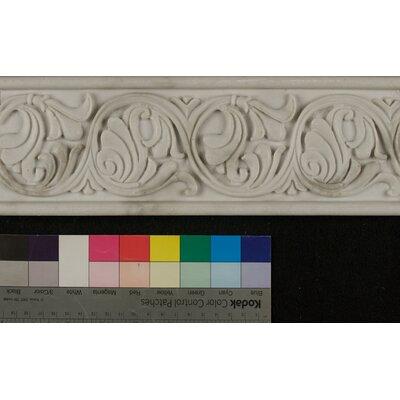 Marmi Di Napoli Deco Liner 4 x 12 Resin Tile in Calacatta