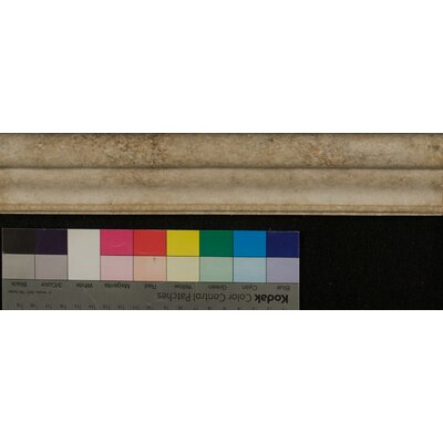 Marmi Di Napoli Chair Rail 2.25 x 12 Resin Tile in Creme Brulee