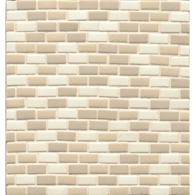 ID-ology 0.5 x 1 Glass Mosaic Tile in Babys Breath