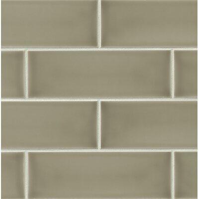 Grace 4 x 12 Ceramic Subway Tile in Ecru