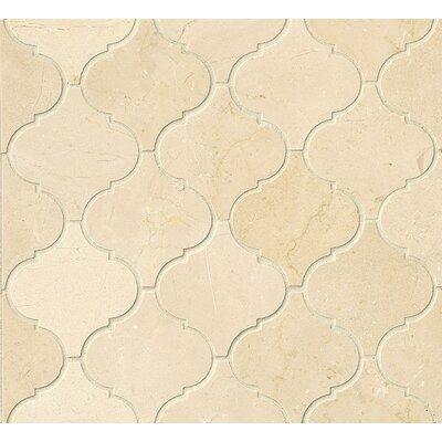 Marble Mosaic Tile in Crema Marfil Select