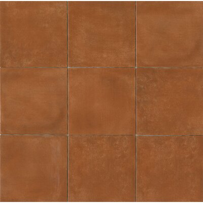 Cotto Nature 14 x 14 Porcelain Field Tile in Glossy Cotto Nature