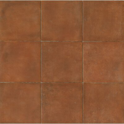 Cotto Nature 14 x 14 Porcelain Field Tile in Matte Sicilia