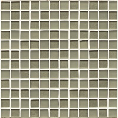 Manhattan 0.94 x 0.94 Glass Mosaic Tile in Mint