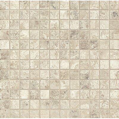 1 x 1 Marble MosaicTile in Sebastian Grey