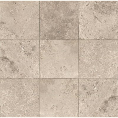 12 x 12 Marble Field Tile in Sebastian Grey