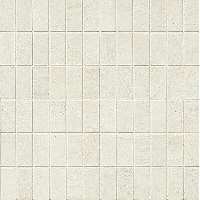 Purestone 1 x 2 Porcelain Mosaic Tile in Bianco