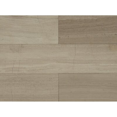 24 x 6 Stone Mosaic Field Tile in�Ashen Grey