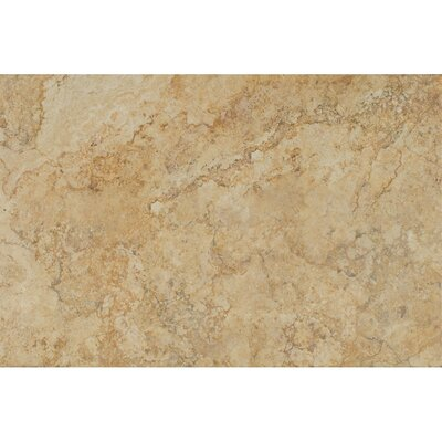 Forge Ink Jet Brushed Texture 13 x 20 Porcelain Tile in Gold