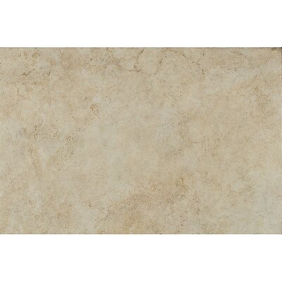 Forge Ink Jet Brushed Texture 13 x 20 Porcelain Tile in White
