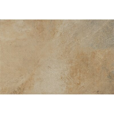 Rok Textured Ink Jet 13 x 20 Porcelain Tile in Calcare