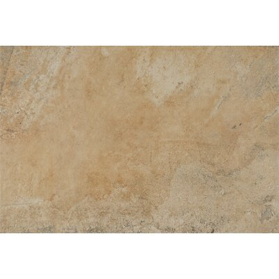 Rok Textured Ink Jet 13 x 20 Porcelain Tile in Tufo