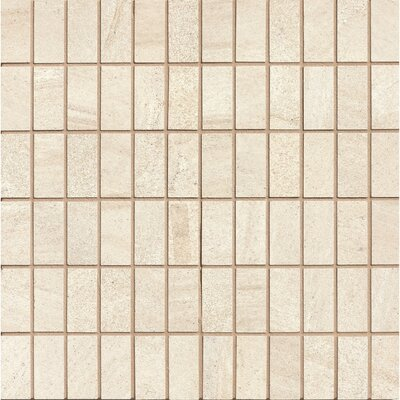Purestone 1 x 2 Porcelain Mosaic Tile in Beige