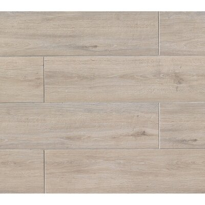 Titus 8 x 36 Porcelain Field Tile in Beige