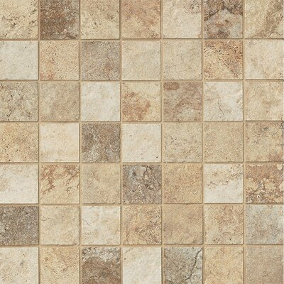 Forge 2 x 2 Porcelain Mosaic Tile in Mix Colors