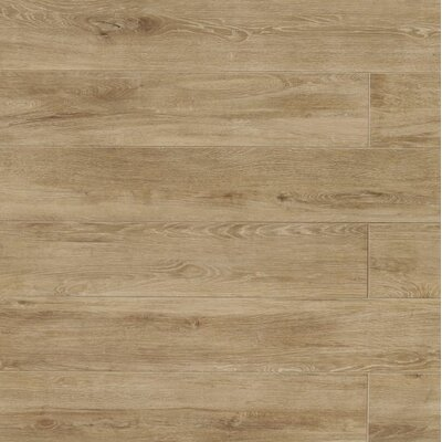 Othello 7.75 x 47.13 Porcelain Wood Field Tile in Cinnamon